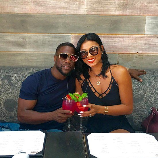 Kevin Hart and New Wife Eniko Parrish Share Wedding Photos Before Leaving for Honeymoon