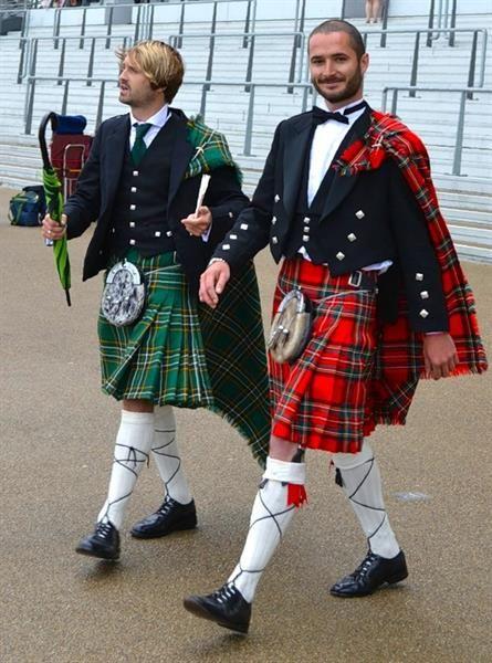 Ирландский национальный мужской костюм