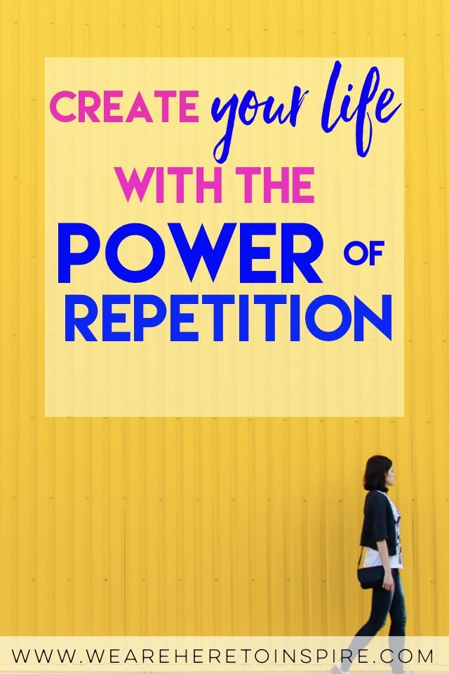 We all know how amazing the law of attraction is. But do you know the power of repetition? This has the power to change your life by simply changing your daily habits or routines. If you want success, money or even happiness, you need to change something you do on a daily. The way you think, your thoughts, your everyday actions and habits. Are you aware of all the power and potential you have inside of you?
