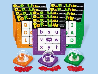 Lakeshore Learning Pop and Win Alphabet Bingo Game Review