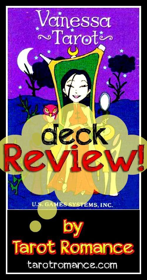 My review of the splendidly sassy Vanessa Tarot Deck!