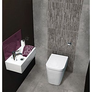 29 Best Images About Bathroom Ideas On Pinterest Tester Back To Wall Toilets And Ceramic Wall
