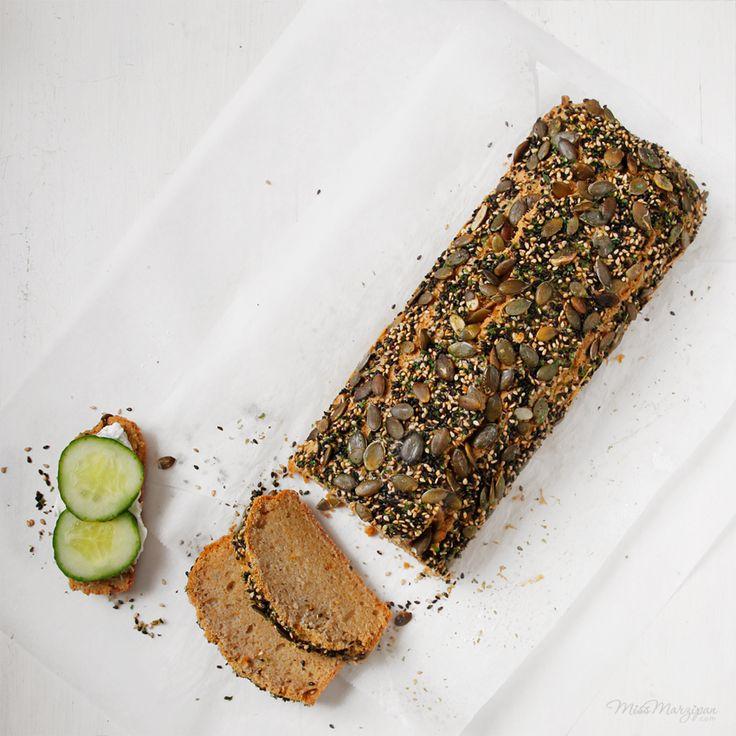 Gluten-free buckwheat loaf. Amazing! #IQS8wp #vegetarian #delicious