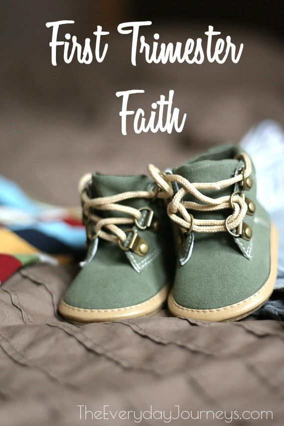 The Everyday Journeys : First Trimester Faith: What Early Pregnancy Can Teach Us About Trusting God