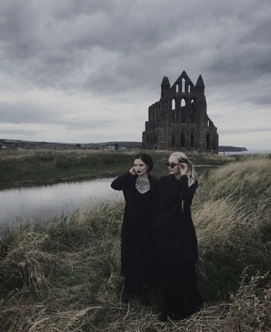All Goths end up in Whitby