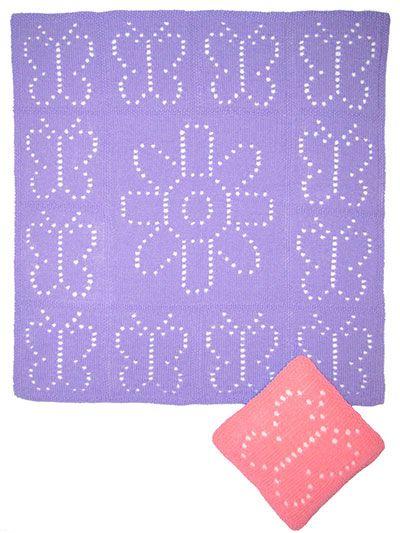 Knitting Pattern Central Baby Blankets : 17 best images about Knitting Baby Blanket Pattern Downloads on Pinterest P...