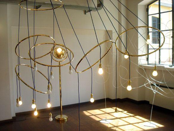 Hula Hoop Lamp By Adolf Loos for Woka