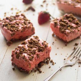 Ice Cream Cake with Circus Animal Crust - Food Faith Fitness