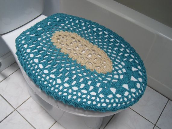 turquoise toilet seat cover. Crochet Toilet Seat Cover  Aqua oatmeal 17 best seat covers images on Pinterest