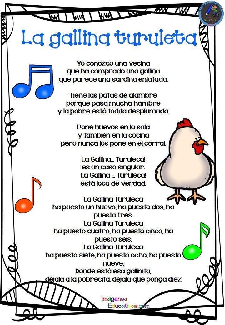 Las Canciones De La Granja Para Infantil Letras De Canciones Infantiles Canciones De La Granja Canciones Infantiles Preescolar