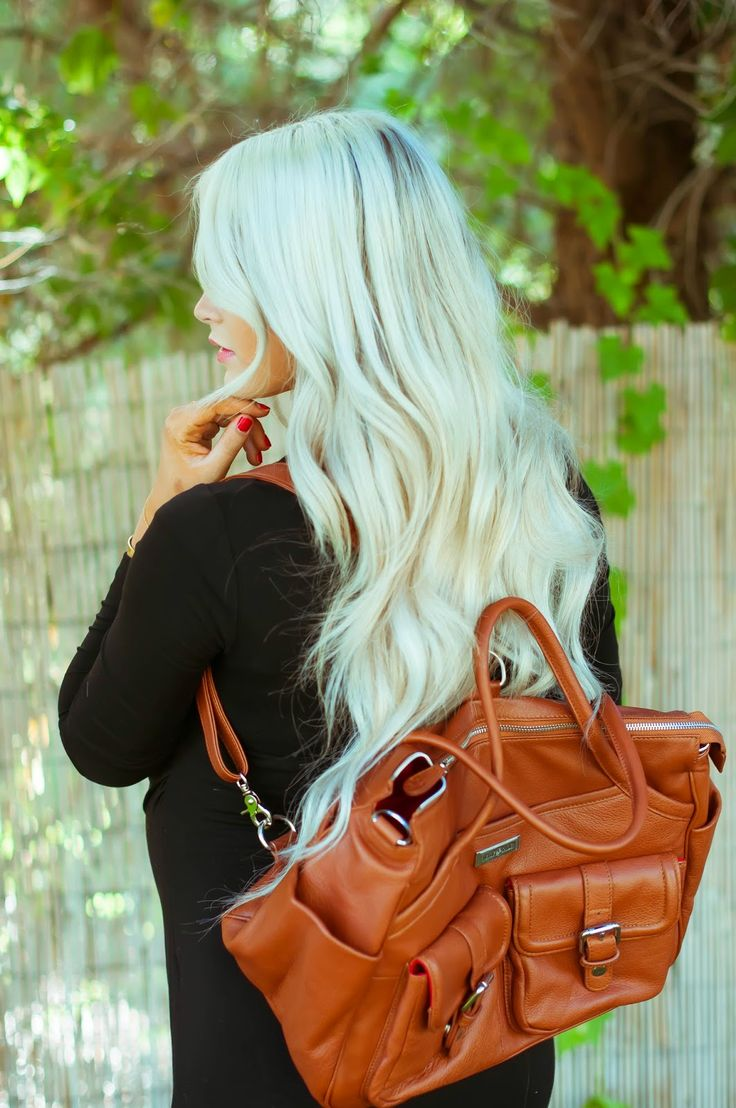 """Cara Loren. Designer Diaper Bag = Rave reviews!!! """"My favorite part of the diaper bag is how many different ways you can carry it (especially the backpack option)"""" Lily-Jade created luxury bags that work as hard as you do. With 16 pockets they are the perfect gift for the organized woman."""