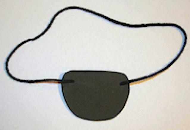 How to Make a Pirate: Pirate Eye Patch