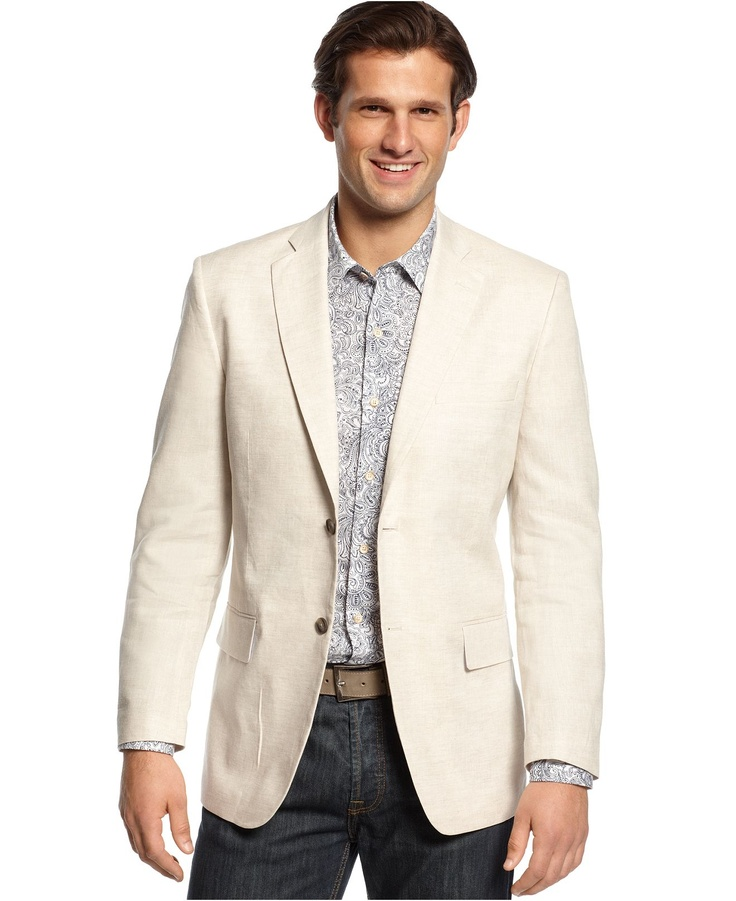 36 best Sports Jacket - Beige (Linen) images on Pinterest ...