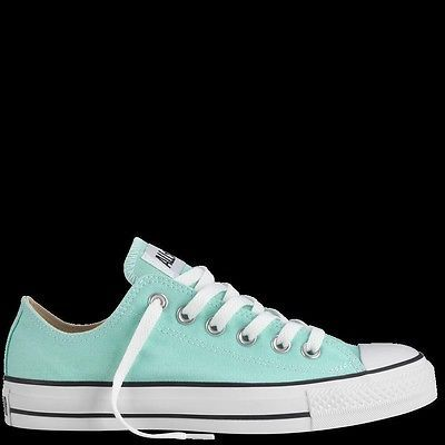 New converse chuck Taylor all star athletic shoes sneakers mint green women  US 7
