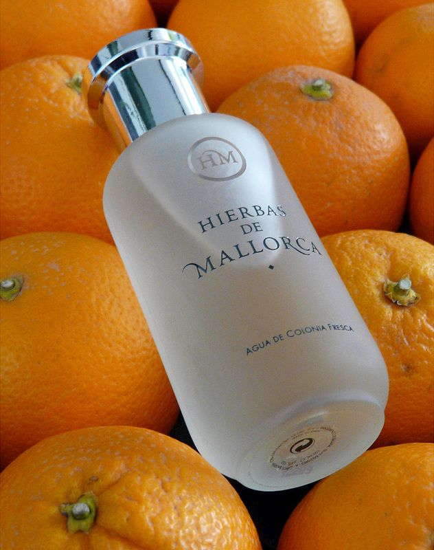 Hierbas de MallorcaEau de Cologne 100 ml. A clean, happy citrus floral scent that evokes the sunrises that are characteristic of the Balearic islands. It's made with the essences of rind of Bergamot, Lemon and Orange peels, Salvia, Lavender, Camomile, Coriander, Nard and Jasmine. Launched on the island in 1999, Hierbas de Mallorca is a slice of sunshine, cheerful and fresh. €33.85