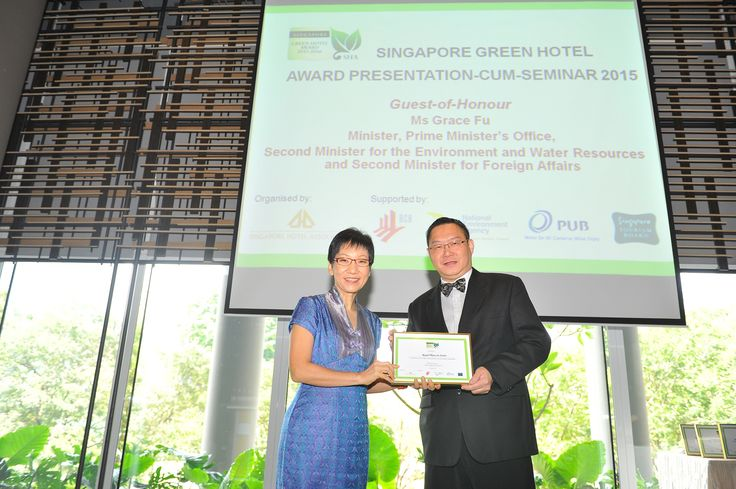 We were just awarded the Singapore Green Hotel award 2015 by Singapore Hotel Association! We're so excited and grateful for the support our guests have extended to us in the green initiative.  A big Thank You to everyone who practises being green everyday!