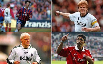 Trikottausch: Diese Spieler liefen für Bayern und Gladbach auf - Bundesliga - Bildergalerie - kicker