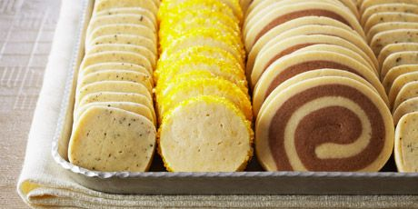 Icebox Cookies, by Anna Olson. Another must try - Tender Tart Dough as the base looks like an easy make ahead thing to do!