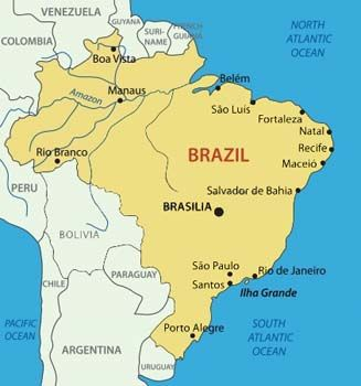 Brazil Facts For Children | A to Z Kids Stuff