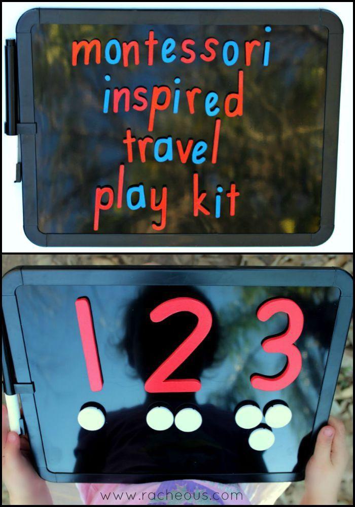 Montessori Travel Play Kit - Racheous - Respectful Learning & Parenting