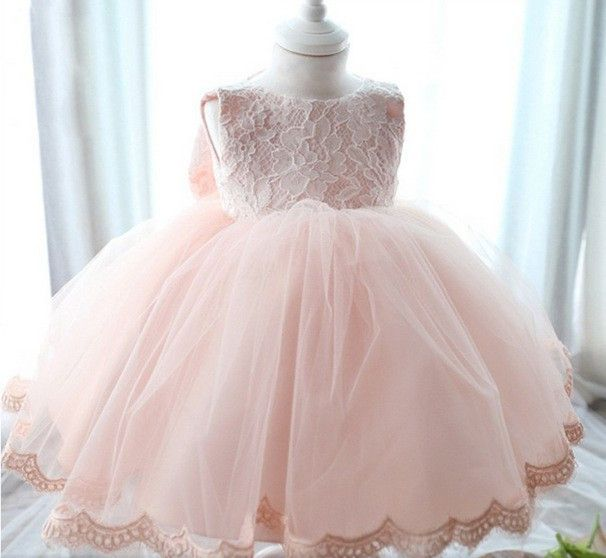 "The ""Reina"" Lace Dress Flower Girl Party Dress"