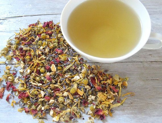 Lavender Lullaby Herbal Tea by ArtfulTea - 2 oz. tin of luxury loose leaf tea $12.00