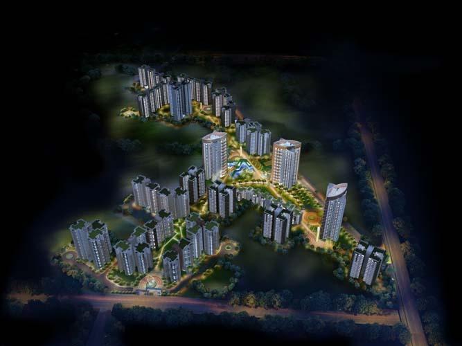 Greenopolis - aerial view