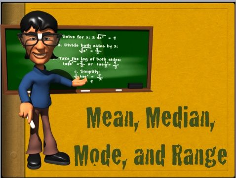 Clip Art Mean Median Mode
