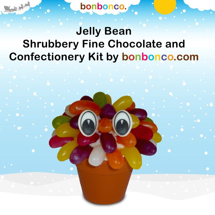 Jelly Bean Shrubbery by Bonbonco by BONBONCO on Etsy