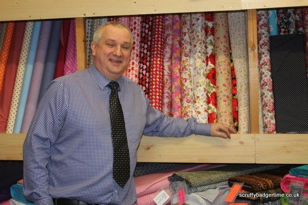 Fabric shopping in Bath- The Sewing Studio