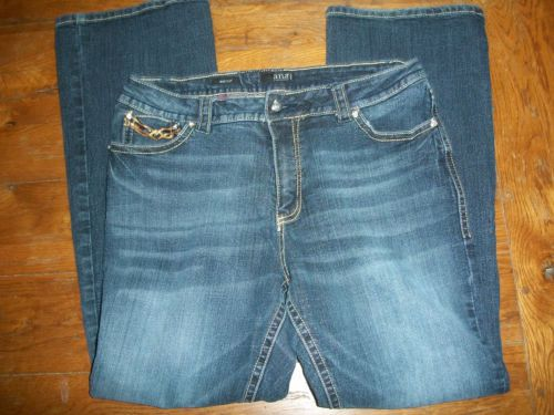 Womens-A-N-A-Jeans-16W-32L-Bootcut-Bedazzle