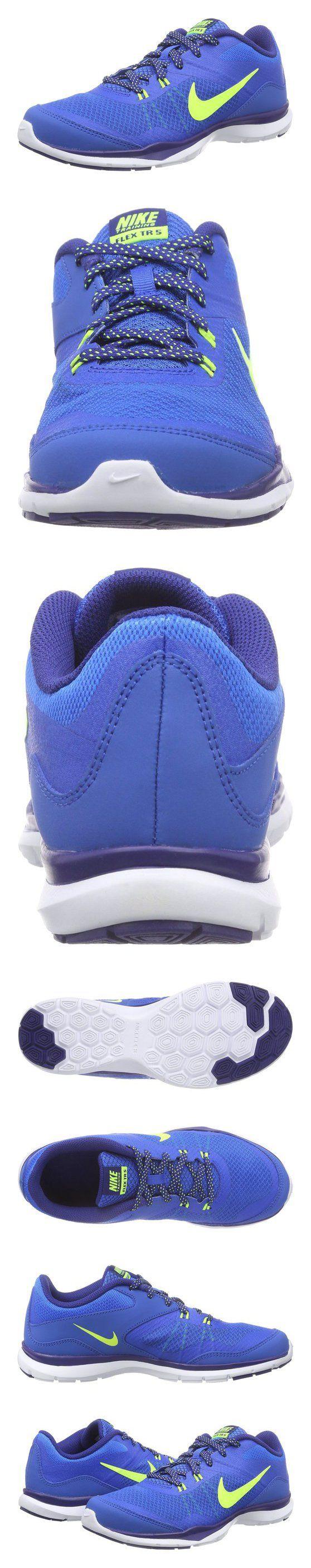 $70 - Nike Women's Flex Trainer 5 Soar/Volt/Dp Royal/Blue/White Training Shoe 9 Women US #shoes #nike #2015