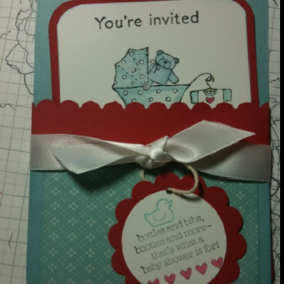 Stampin up baby shower invitations stampin up baby shower invitations theruntimecom 1000 images about baby shower invitation on pinterest filmwisefo