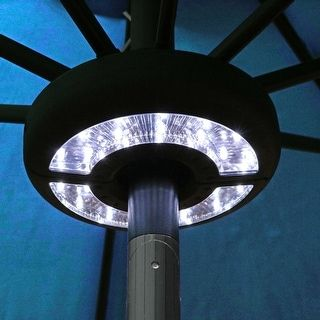 Shop For Sunnydaze Patio Umbrella LED Light   Black. Free Shipping On  Orders Over $45
