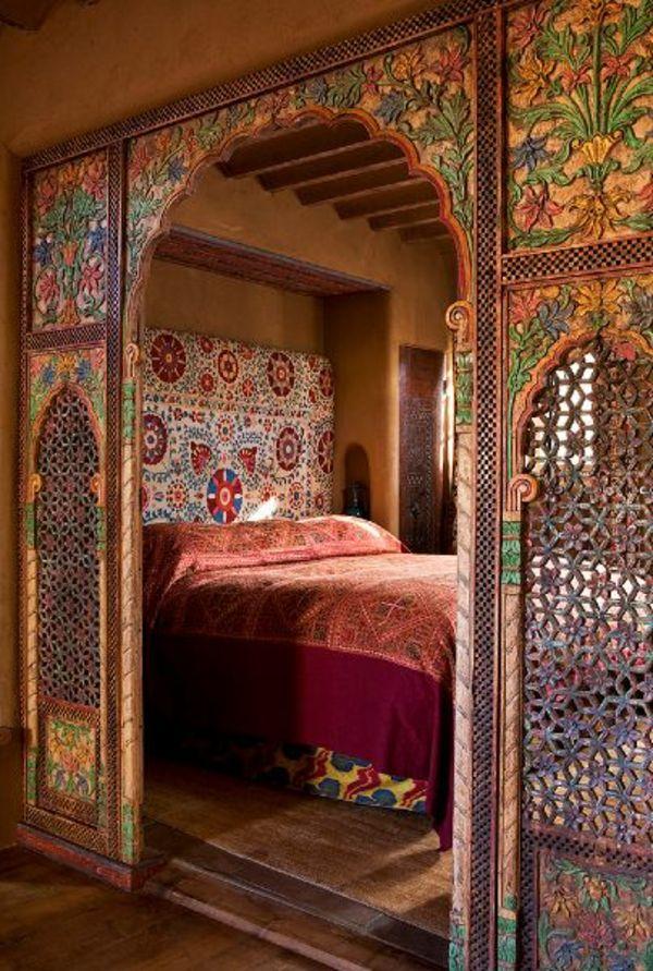 Orientalisches Schlafzimmer gestalten – wie im Märchen wohnen