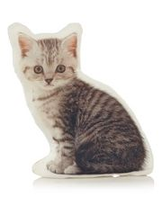 George Home Shaped Cat Cushion