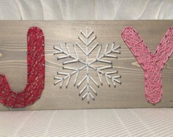 Beautiful holiday decor addition- candy cane string and nail art! Add this cute sign to your home for Christmas! Size is approximately 9 by 12. You choose the wood stain (espresso or gray) and bow color!  A sawtooth hanger will be attached to the back.  Shipping varies, so I will refund the difference if its less than the listed price