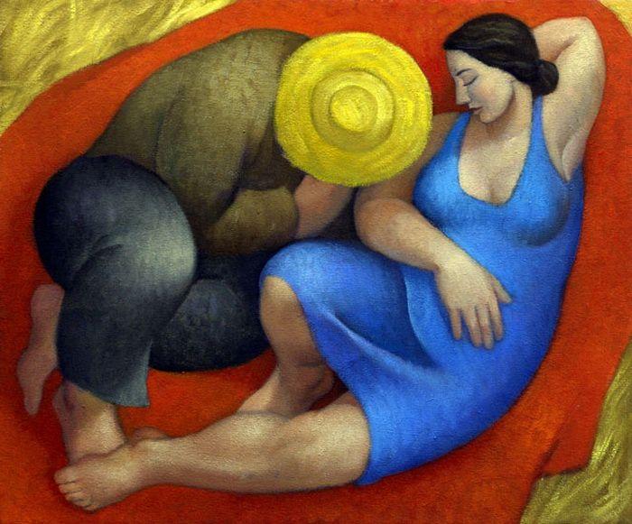 Простые радости: 9 картин российской художницы, излучающих тепло | World of Art