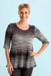 Swing Tunic, As Seen On Knitting Daily TV with Vickie Howell Episode 1202 - Media - Knitting Daily