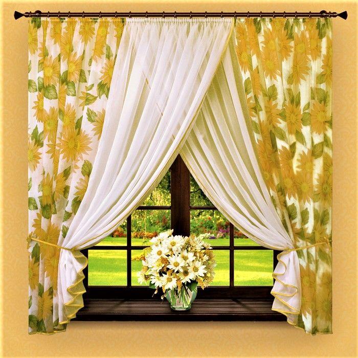 Кухонные шторы и занавески - море идей и советов » Женский Мир