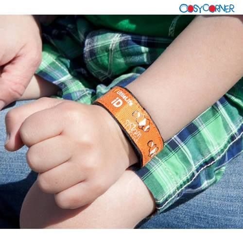 LittleLife Παιδική Ταυτότητα Καρπού - Με εσωτερική τσέπη αρκετά μεγάλη, ώστε να χωράει μία μικρή ταυτότητα με χρήσιμες πληροφορίες που αφορούν το παιδί (π.χ. αλλεργίες, φαρμακευτικές αγωγές, κλπ.) http://bit.ly/1nMrLW1