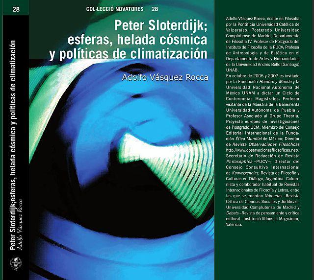 """Dr. Adolfo Vásquez Rocca  Libro: """"Peter Sloterdijk; Esferas, Helada cósmica y Políticas de Climatización"""", Presentación del Libro Sociedad Asturiana de Filosofía"""