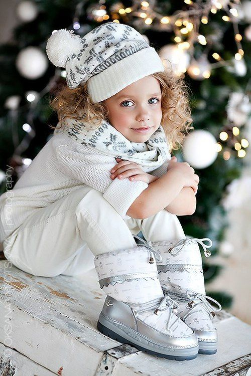 Image de beautiful, christmas, and girl