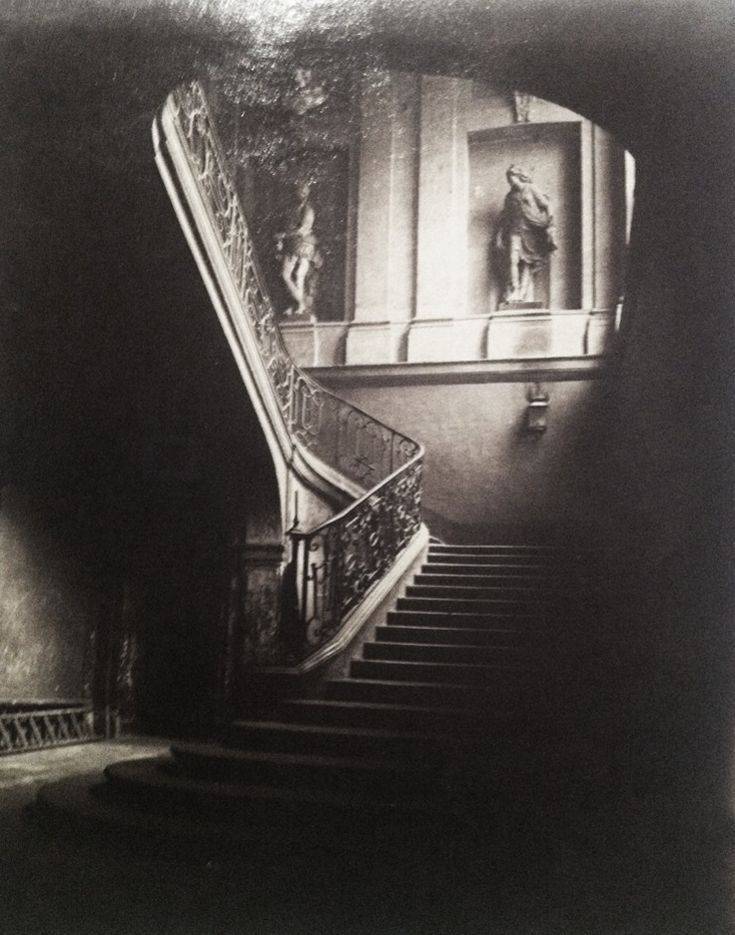 EUGENE ATGET: His project, Old Paris begun around 1897 and ending in the 20s focused on the disappearance of the 19th century's architectural dream realm as the city was swept by modernization schemes.