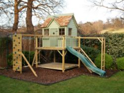 Raised Playhouses, Platform Playhouses and Free Standing Treehouses