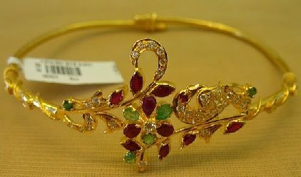 25 Simple and Heavy Indian Gold Jewellery Designs #GoldJewelleryBangles