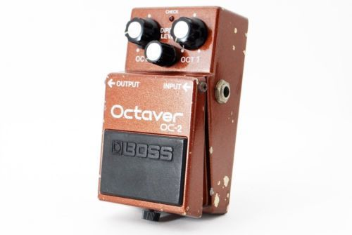 Boss-OC-2-Octaver-Octave-Vintage-Guitar-Effects-Pedal-Made-In-Japan-Rare-419400
