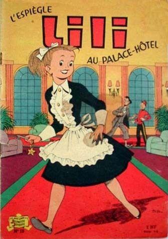 Lili (L'espiègle Lili puis Lili - S.P.E) -15- L'espiègle Lili au Place-Hôtel - BD