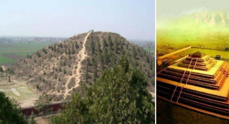 Η ΜΟΝΑΞΙΑ ΤΗΣ ΑΛΗΘΕΙΑΣ: Η Λευκή Πυραμίδα της ερήμου Τάκλα Μακάν στην Κίνα