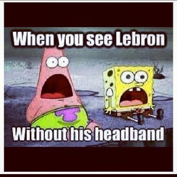 Lol, that's my exact face when I saw LeBron James in the finals